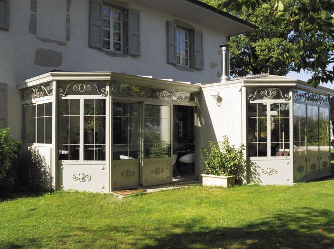 V randa chaque maison son style elle d coration - Construction maison style ancien ...
