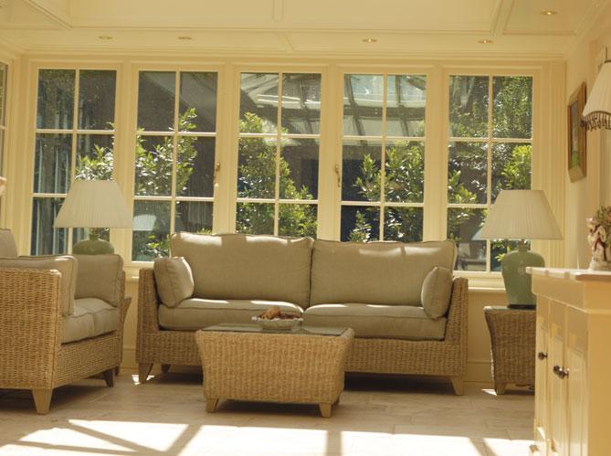 V randa chaque maison son style elle d coration - Amenagement interieur d une veranda ...
