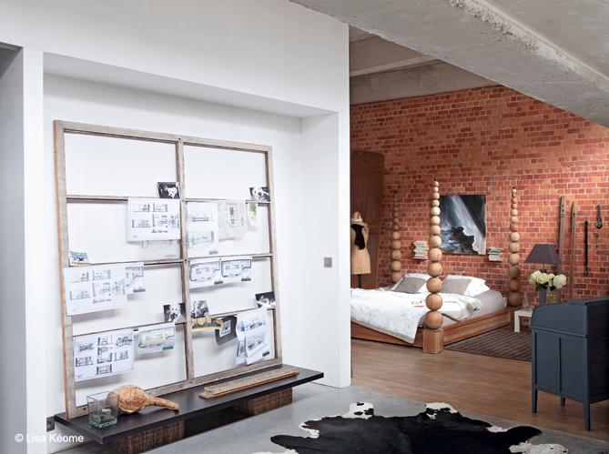 Visitez un loft qui est immense elle d coration for Chambre loft