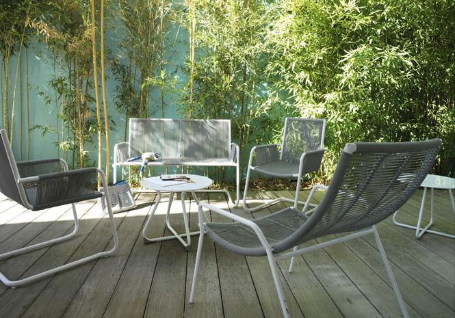 50 meubles de jardin shopper elle d coration - Canape de jardin castorama ...