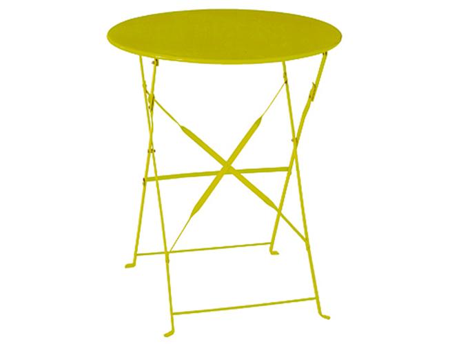 10 tables de jardin moins de 100 elle d coration. Black Bedroom Furniture Sets. Home Design Ideas