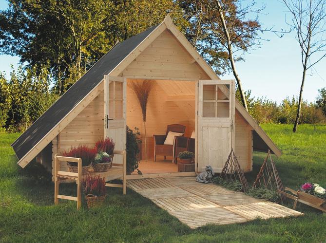 Design : Cabane Jardin Hornbach - Poitiers 12, Cabane En Bois Jardin ...