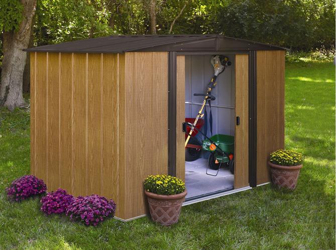 Une jolie cabane pour mon jardin elle d coration for Mini abri jardin