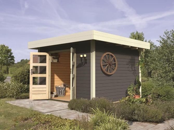 Une jolie cabane pour mon jardin elle d coration for Carrefour chalet de jardin