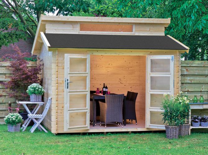 Une jolie cabane pour mon jardin elle d coration - Abri de jardin truffaut ...