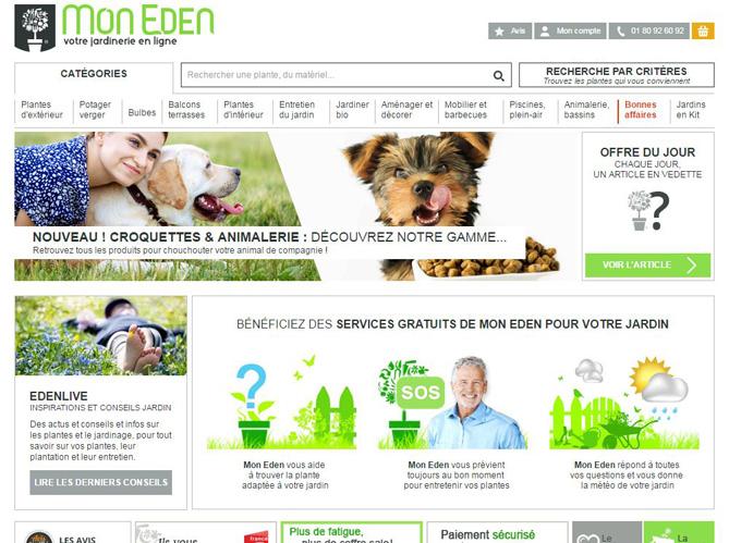 L 39 actu du jour une jardinerie en ligne qui s 39 adapte for Site de jardinerie en ligne