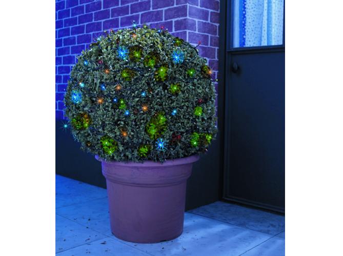 No l comment d corer l 39 ext rieur de sa maison elle for Guirlande lumineuse pour jardin