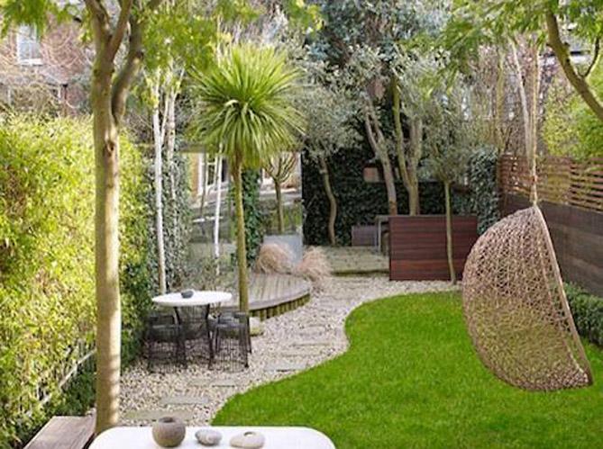 5 id es pour un jardin design elle d coration. Black Bedroom Furniture Sets. Home Design Ideas