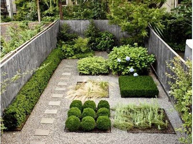 5 id es pour un jardin design elle d coration - Jardin de maison design ...