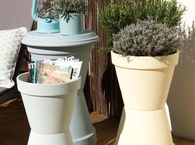 diy r alisez des rangements tendance pour le jardin elle d coration. Black Bedroom Furniture Sets. Home Design Ideas