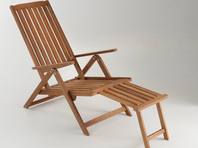 Gain de place les meubles de jardin pliables elle for Chaises longues pliables