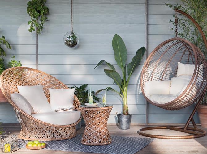 Mobilier de jardin la collection 2016 jardiland elle for Deco jardin 2016