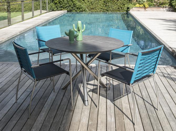 Truffaut la collection jardin 2016 elle d coration - Table ronde exterieure ...