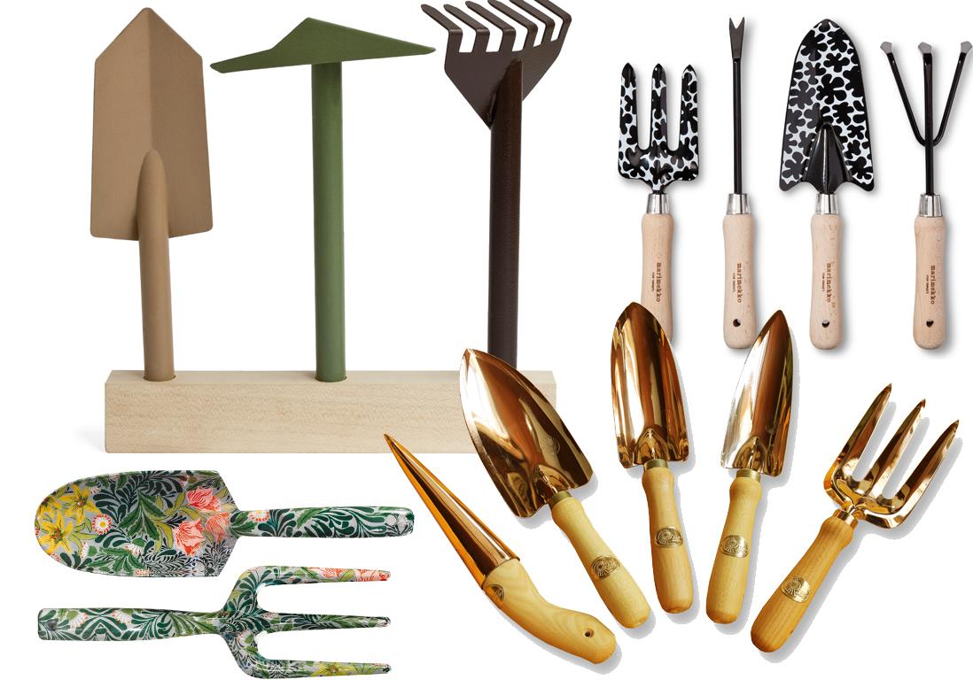 outils jardinage design montre moi tes outils de jardin je te dirai qui tu es elle d coration. Black Bedroom Furniture Sets. Home Design Ideas