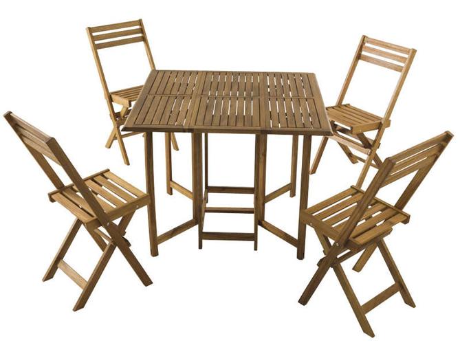 Shopping 30 meubles de jardin pas chers pour ne pas se for Table et 6 chaises conforama