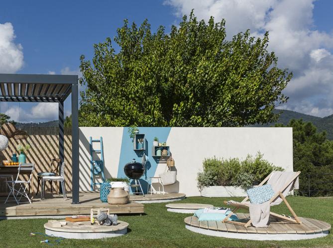 Du bois rien que du bois pour ma terrasse elle d coration - Deco jardin bois exterieur ...
