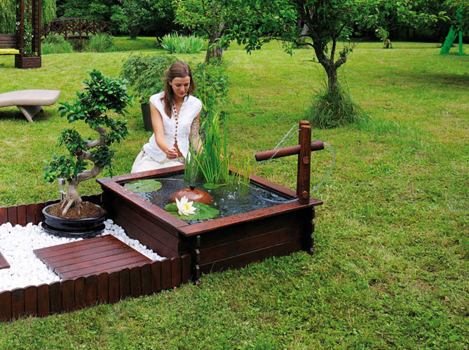 5 beaux petits bassins mettre dans le jardin elle - Photo bassin de jardin ...
