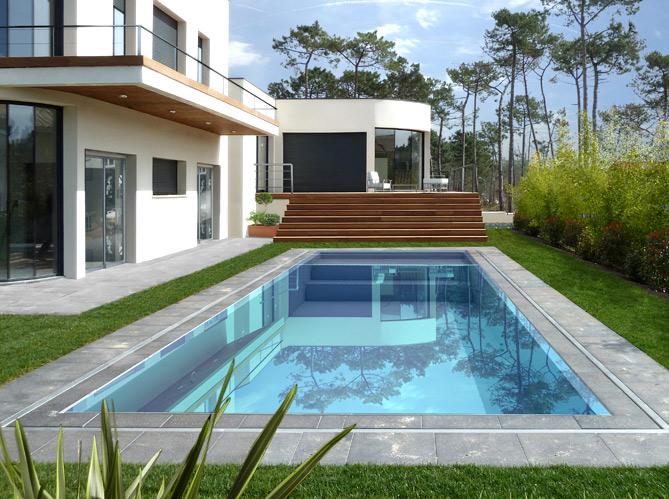 Une piscine pour tous les styles elle d coration for Christine caron piscine