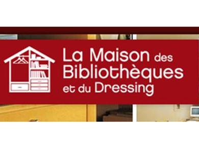 la maison des biblioth ques et du dressing elle d coration. Black Bedroom Furniture Sets. Home Design Ideas