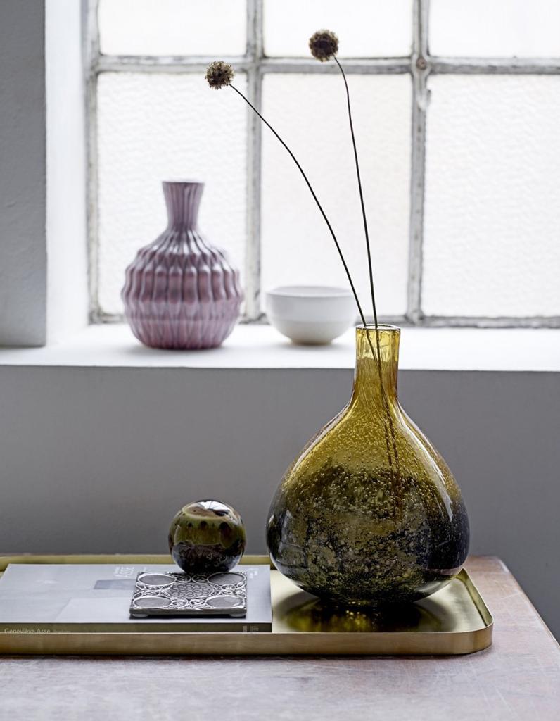 Vase notre s lection de vases pour fleurir vos int rieurs elle d coration - Deco vase en verre ...