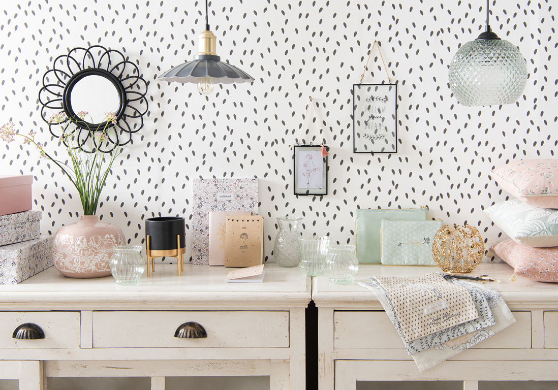 maisons du monde les id es qu 39 on pique la collection printemps t 2018 elle d coration. Black Bedroom Furniture Sets. Home Design Ideas