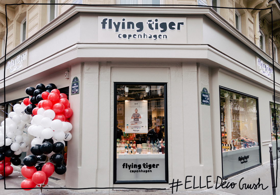 Elled Cocrush Flying Tiger Copenhagen Ouvre Enfin Une Boutique En Plein Paris Elle D Coration