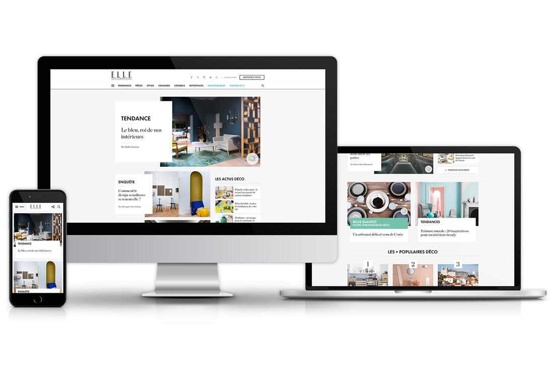 Bienvenue sur le nouveau site elle for Site deco