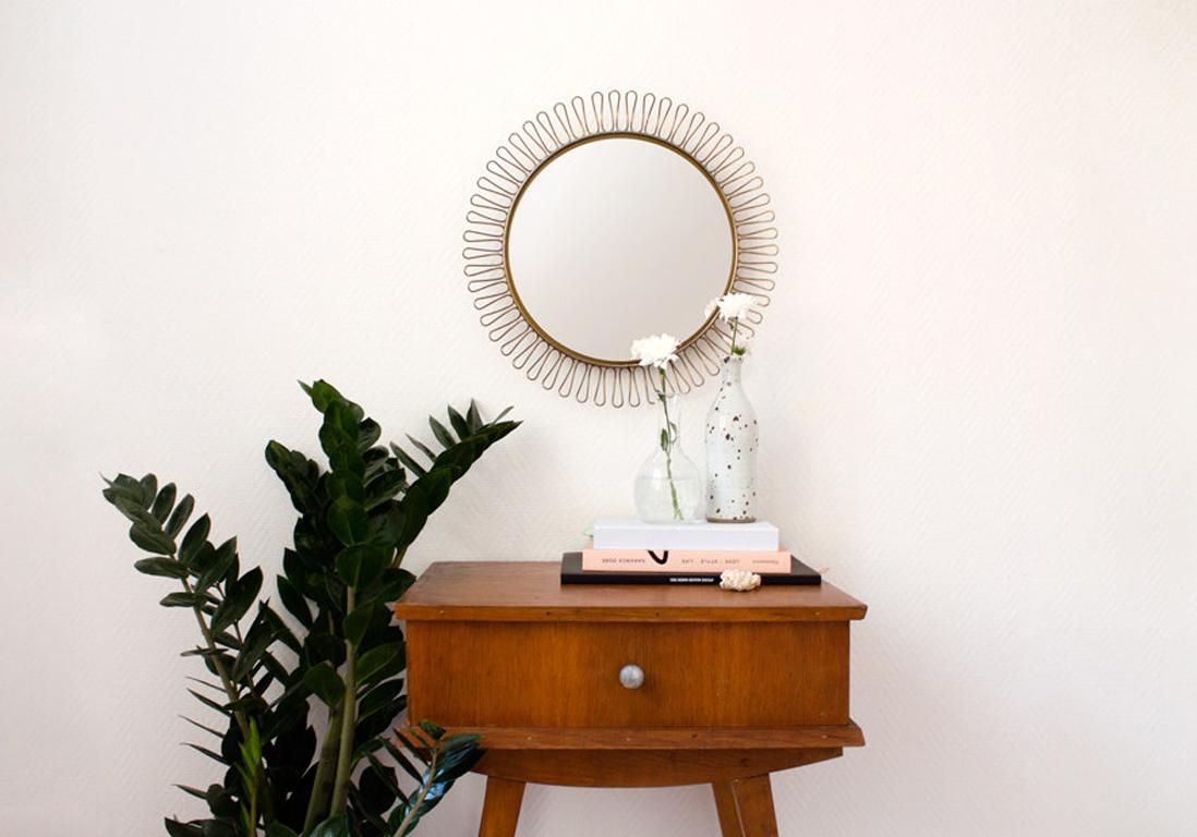 Le miroir soleil plus tendance que jamais elle d coration for Miroir reflet sens 50