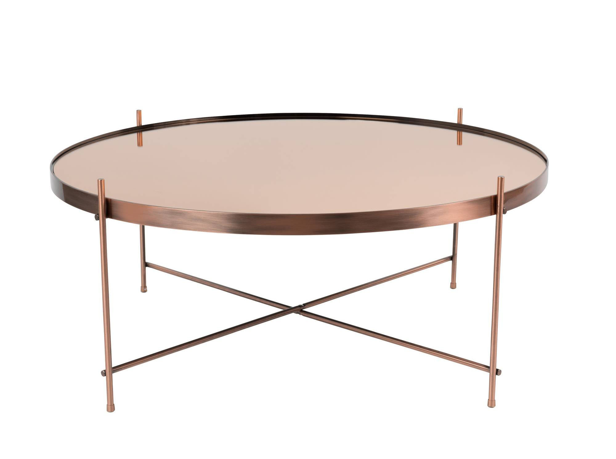table basse mtallique rose gold - Chambre Rose Gold