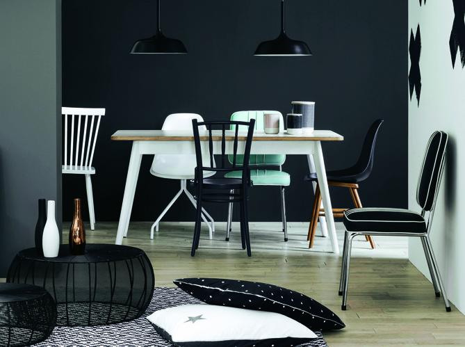 Le noir et blanc le nouveau duo gagnant elle d coration - Duo mobilier design gagnant jangir maddadi ...