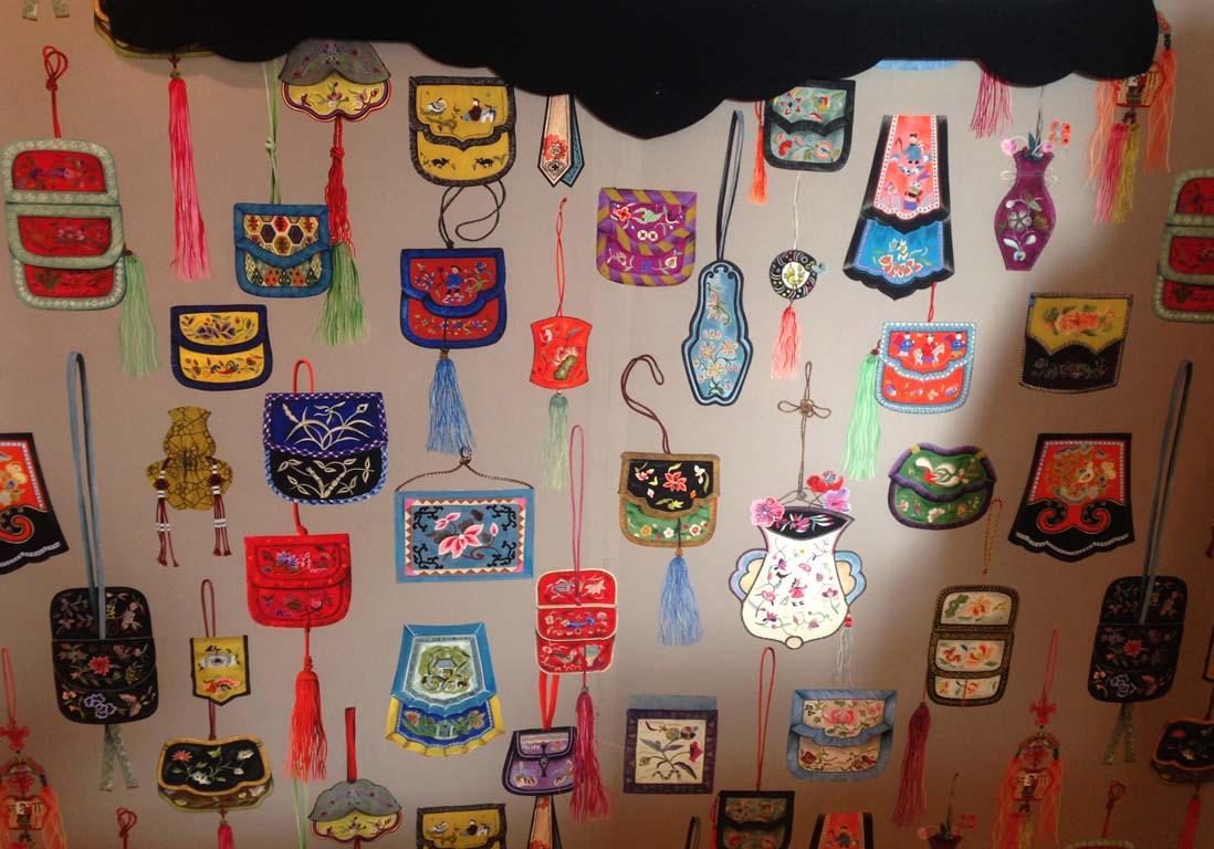 Tissus textiles papiers peints quoi de neuf elle d coration - Tissu manuel canovas ...
