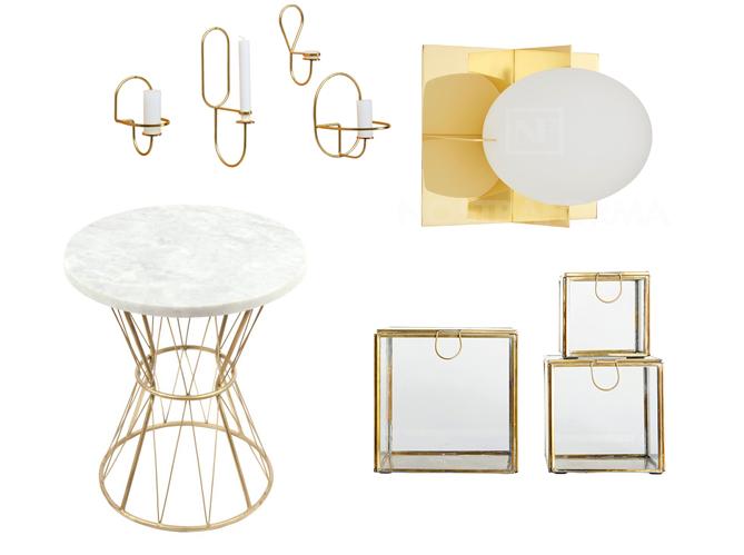 pour ou contre la tendance dor elle d coration. Black Bedroom Furniture Sets. Home Design Ideas