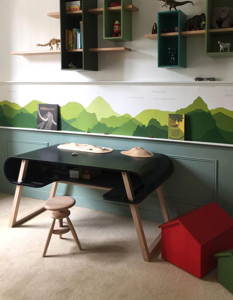 bureau enfant d couvrez notre s lection styl e elle. Black Bedroom Furniture Sets. Home Design Ideas