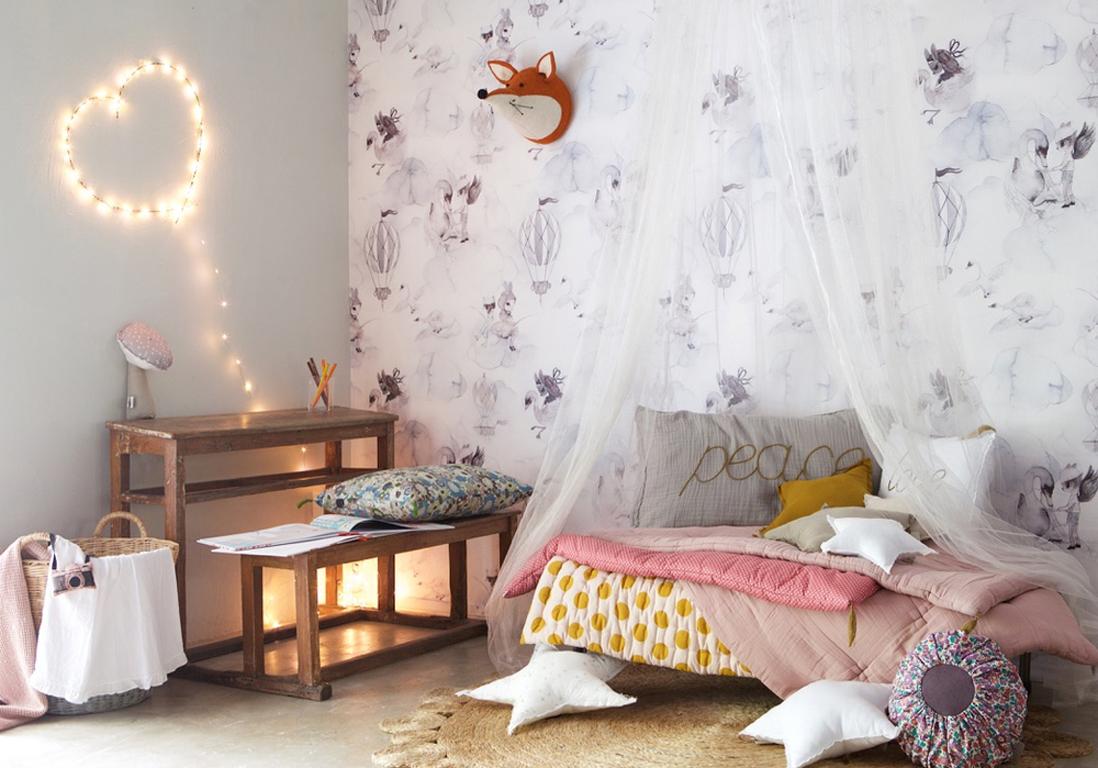 Les 30 plus belles chambres de petites filles elle for Decoration de chambre pour petite fille