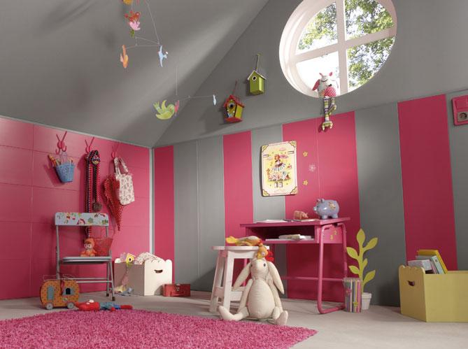 5 belles chambres d enfant am nag es dans les combles for Chambre d enfant decoration