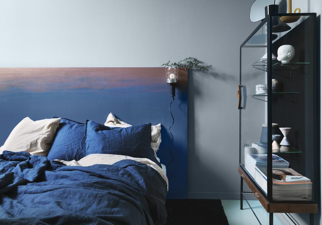 #3D5D8E Succombez à La Chambre Bleue Elle Décoration 2357 petite chambre bleue 1098x768 px @ aertt.com