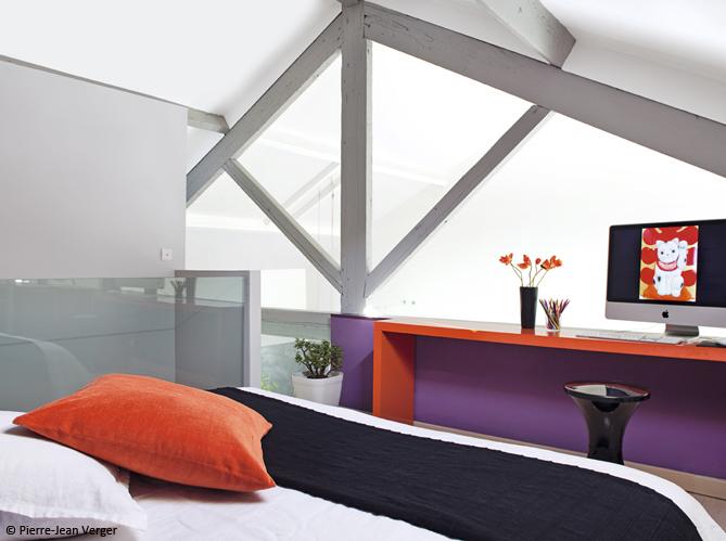 Stunning Decoration Chambre Camaieu Orange Gallery - ansomone.us ...