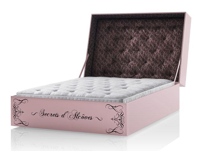 Ultrasensuelle, la collection de lits signée Chantal