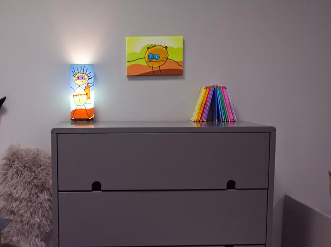 une d co colorier pour les enfants elle d coration. Black Bedroom Furniture Sets. Home Design Ideas