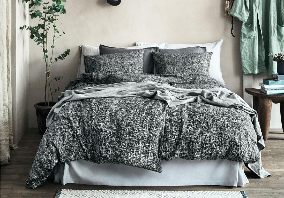 comment choisir son linge de lit nos id es pour un lit. Black Bedroom Furniture Sets. Home Design Ideas