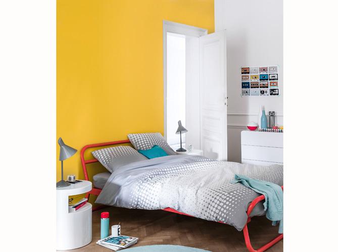Chambre chambre jaune moutarde 1000 id es sur la for Chambre jaune moutarde