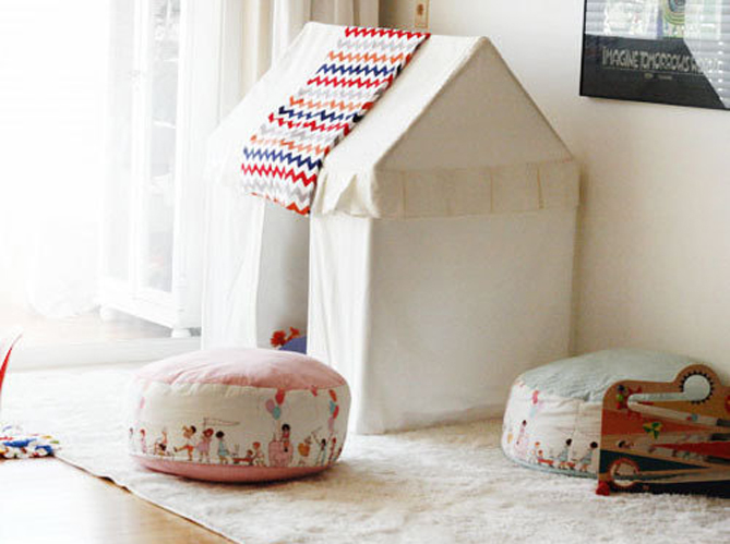 coup de c ur pour les cabanes d enfants elle d coration. Black Bedroom Furniture Sets. Home Design Ideas