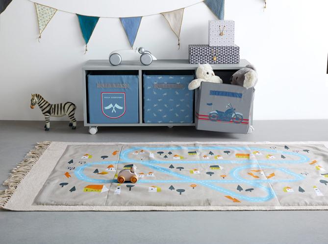 Craquez pour un tapis dans la chambre de votre enfant elle d coration - Tapis circuit enfant ...