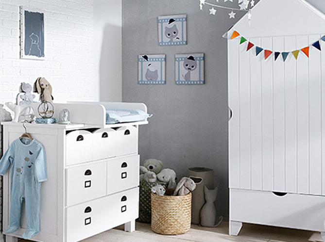 nos meilleurs conseils pour une chambre de b b au top elle d coration. Black Bedroom Furniture Sets. Home Design Ideas