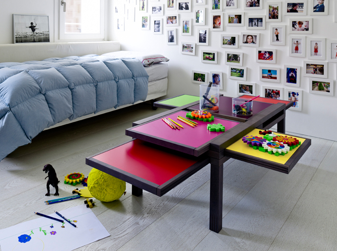 enfants une d co fun et color e pour s 39 amuser elle d coration. Black Bedroom Furniture Sets. Home Design Ideas