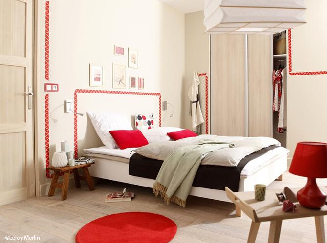 Id e d co une touche de couleur dans votre chambre for Les meilleur couleur de chambre