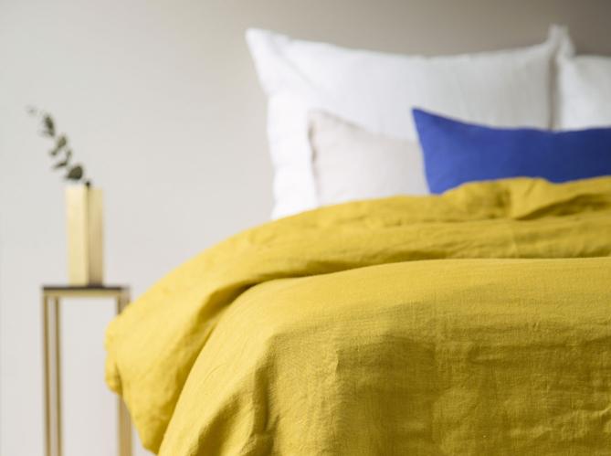 l 39 actu du jour gabrielle paris et son joli linge de maison elle d cor. Black Bedroom Furniture Sets. Home Design Ideas