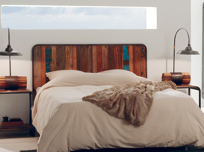 T te de lit 25 t tes de lit pour tous les styles elle - Tete de lit recup ...