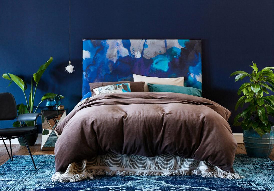 t te de lit 25 t tes de lit pour tous les styles elle. Black Bedroom Furniture Sets. Home Design Ideas