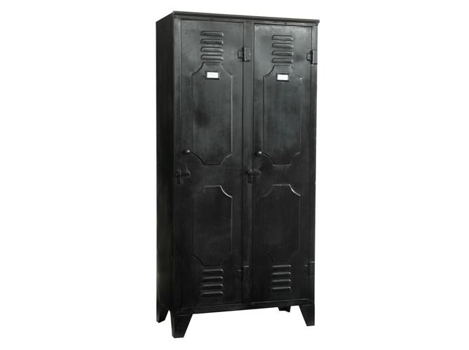 D co chambre armoire ou dressing vous de choisir elle d coration - Armoire style industriel ...
